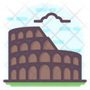 Colosseum Flat Icon