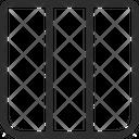 Coloumn Web Layout Web Template Icon