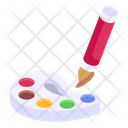 Water Colours Colour Palette Painting Icon