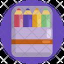 Creative Design Colours Pencil Icon