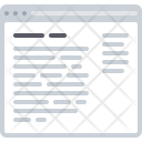 Column Article Text Icon