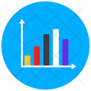 Column Chart Statistics Infographic Icon