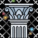 Column Corinthian Icon