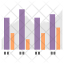 Bar Graph Bar Chart Charting Application Icon