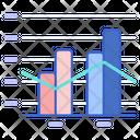 Column Line Chart Icon