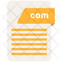 Com File Extension Icon