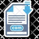 Com File Format Icon