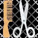 Comb Hair Salon Icon