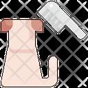 Comb Pet Shop Icon