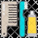 Comb Hairbrush Toothbrush Icon