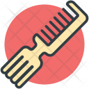 Comb With Tinting Icon