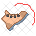 Combat Boot Shoes Icon