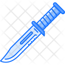 Combat Knife Military Icon