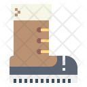 Combat Footwear Jungle Icon