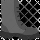 Combat Boots Military Icon