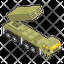 War Truck Military Truck Combat Truck Icon