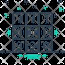 Combination Match Decrypt Icon