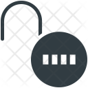 Combination Lock Code Icon