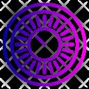 Combination Encryption Protection Icon