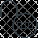 Combination Lock Code Icon