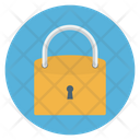 Combination Padlock Crypted Icon
