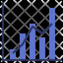 Combination Chart Bar Icon