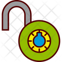 Combination Lock Padlock Icon
