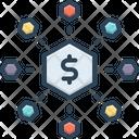 Combine Adjoin Converge Icon