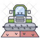 Combine Harvester Agriculture Harvest Icon