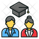 Combine Study Group Study Co Education Icon