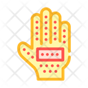 Glove Combing Out Icon