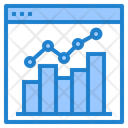 Combo Chart Report Chart Icon