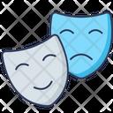 Comedy Mask Tragedy Icon