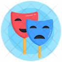 Face Masks Comedy Masks Theater Masks Icon