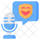 Comedy Humor Mask Icon