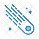 Space Comet Meteor Icon