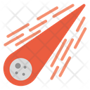 Comet Space Meteor Icon