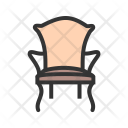Chair Comfortable Furniture Icon