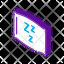 Comfortable Pillow Sleep Icon