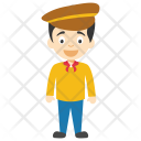 Comic Cartoon Character Icon