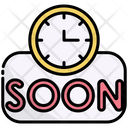 Coming Soon Opening Soon Upcoming Icon