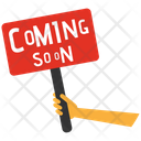 Coming Soon Board Icon