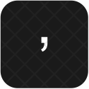 Keyboard Special Sign Icon