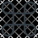 Command Symbol Button Icon