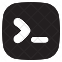 Command Line Coding Icon