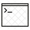 Terminal Commmand Line Icon