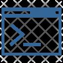 Command Program Operation Icon
