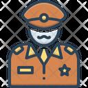 Commander Patriot People Icon