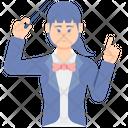 Commander Female Icon