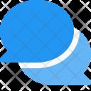 Comment Bubbles Chat Icon